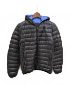 PRADA(プラダ)の古着「ライトダウンジャケット」|ブラック