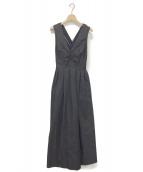Ameri VINTAGE(アメリビンテージ)の古着「LADY ATTRACTIVE DRESS」 インディゴ