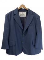 Vivienne Westwood()の古着「ワイド2Bテーラードジャケット」|ネイビー