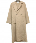 PLST(プラステ)の古着「ロングコート」|ブラウン
