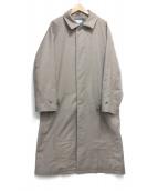 MAISON SPECIAL(メゾンスペシャル)の古着「スマートテックダウンプライムオーバーステンカラーコート」|ブラウン
