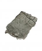 FALIERO SARTI(ファリエロサルティ)の古着「シルク混大判ストール」|ベージュ
