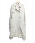 LENER(レネール)の古着「トレンチコート」|アイボリー