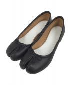 ()の古着「足袋パンプス」 ブラック