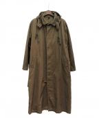 Yohji Yamamoto pour homme(ヨウジヤマモトプールオム)の古着「コットントレンチコート」|ブラウン