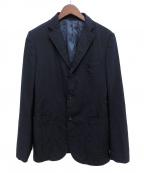 COMME des GARCONS HOMME(コムデギャルソン オム)の古着「製品染め3Bジャケット」|ネイビー