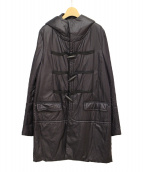 UNDERCOVERISM(アンダーカバーイズム)の古着「中綿ダッフルコート」|ブラック