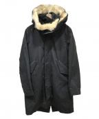 MARKA(マーカ)の古着「ライナー付モッズコート」|ブラック