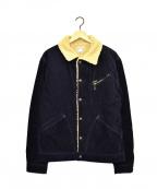 Pherrow's(フェローズ)の古着「裏ボアジャケット」|ネイビー