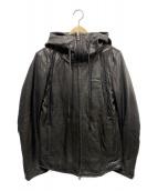 DOMENICO+SAVIO(ドメニコアンドサビオ)の古着「ラムレザージャケット」|ブラック