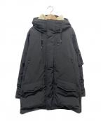 nanamica()の古着「82/18 ダウンコート」 ブラック