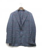 UNIVERSAL LANGUAGE(ユニバーサルランゲージ)の古着「テーラードジャケット」 ブルー