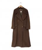 KENZO(ケンゾー)の古着「ロングコート」|ブラウン
