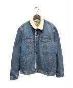 LEVIS(リーバイス)の古着「デニムボアジャケット」|ブルー