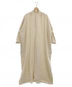 SUZUKI TAKAYUKI(スズキタカユキ)の古着「peasant dress」 ナチュラル