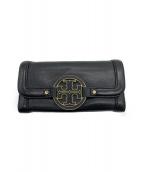 TORY BURCH(トリーバーチ)の古着「長財布」|ブラック