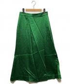 theory(セオリー)の古着「スカートパンツ」|グリーン