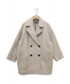 uncrave(アンクレイヴ)の古着「プルーフメルトン Pコート」|ベージュ