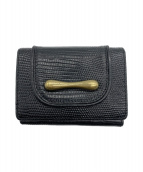 TOFF&LOADSTONE(トフアンドロードストーン)の古着「3つ折り財布」|ブラック