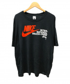 NIKE×STUSSY(ナイキ×ステューシー)の古着「プリントTシャツ」|ブラック
