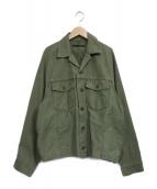 AP STUDIO(エーピーストゥディオ)の古着「Oversized Militalyジャケット」 オリーブ
