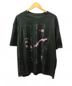 LAD MUSICIAN(ラッドミュージシャン)の古着「プリントTシャツ」 モスグリーン