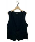 COMME des GARCONS HommePlus(コムデギャルソンオムプリュス)の古着「ジレ」|ブラック