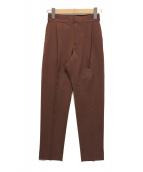 ()の古着「テーパードパンツ」|ブラウン