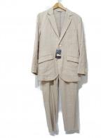 ABAHOUSE(アバハウス)の古着「セットアップスーツ」|ベージュ
