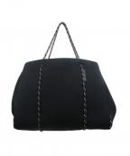 STATE OF ESCAPE(ステイトオブエスケープ)の古着「ネオプレントートバッグ」 ブラック
