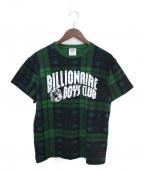 BILLIONAIRE BOYS CLUB(ビリオネアボーイズクラブ)の古着「Tシャツ」 グリーン