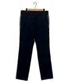 Y's(ワイズ)の古着「サイドラインスラックス」|ブラック