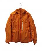 BURTON(バートン)の古着「ゴアテックスライトダウンジャケット」|オレンジ