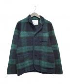 WHITE MOUNTAINEERING(ホワイトマウンテ二アニング)の古着「ウールジャケット」 グリーン