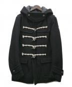 Francis T MOR.K.S(フランシストモークス)の古着「ダッフルコート」|ブラック