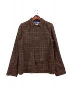 COMME des GARCONS JUNYA WATANABE MAN(コムデギャルソン ジュンヤワタナベマン)の古着「ハリスツイードシャツジャケット」|ブラウン
