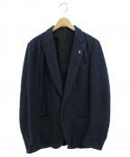 Francis T MOR.K.S(フランシストモークス)の古着「2Bジャケット」|ネイビー