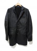 NO ID.(ノーアイディー)の古着「レザージャケット」|ブラック