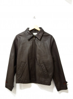 Paul Smith London(ポールスロンドン)の古着「レザージャケット」 ブラウン