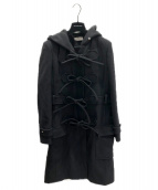 BALENCIAGA(バレンシアガ)の古着「リボンダッフルコート」|ブラック