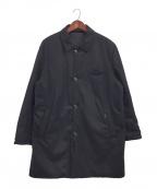 MOORER(ムーレー)の古着「リバーシブルコート」 ネイビー