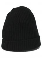 JOHNSTONS OF ELGIN(ジョンストンズ オブ エルガン)の古着「ニット帽」|ブラック