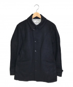 SHIPS(シップス)の古着「シングルPコート」|ブラック