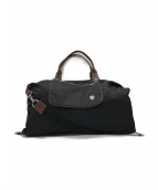 ()の古着「2WAYバッグ」|ブラック×ブラウン