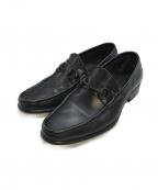 GUCCI()の古着「ビットローファー」|ブラック