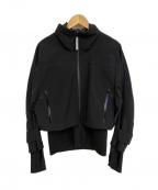 adidas by stella McCartney(アディダスバイステラマッカートニー)の古着「トレイルソフトシェルジャケット」|ブラック