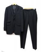 BURBERRY BLACK LABEL(バーバリーブラックレーベル)の古着「2ボタンピンストライプスーツ」 ブラック