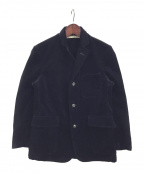 BONCOURA(ボンクラ)の古着「太畝コーデュロイジャケット」|ネイビー