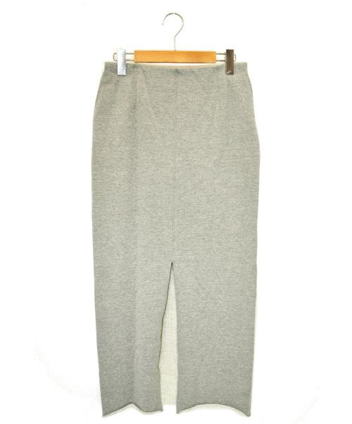 AK+1(エーケーワン)AK+1 (エーケーワン) スウェットタイトスカート グレー サイズ:36の古着・服飾アイテム