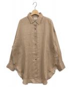 ()の古着「RAMIEシャツ」 ベージュ